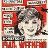 Llangollen Railway 1940s Weekend