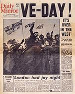 75th Anniversary of Victory Day (VE Day)