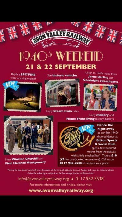 Avon Valley Railway 40s Weekend