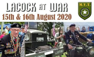 Cancelled - Lacock at War